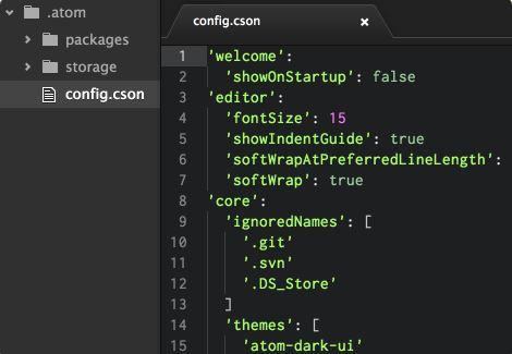 GitHub Atom online editor