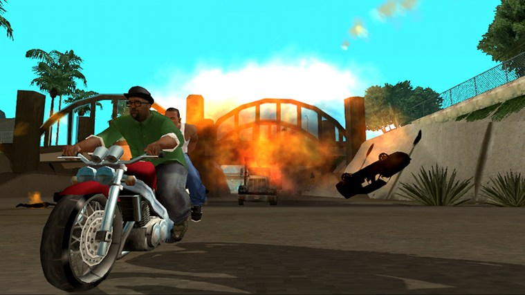 Grand Theft Auto San Andreas Windows Store