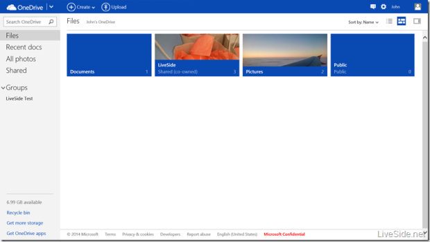 OneDrive Co-owned-Folder