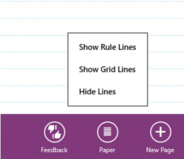 OneNote Windows 8 app 1