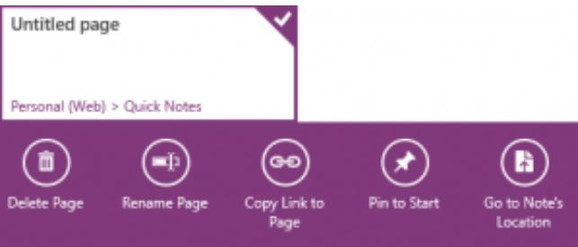 OneNote Windows 8 app 2