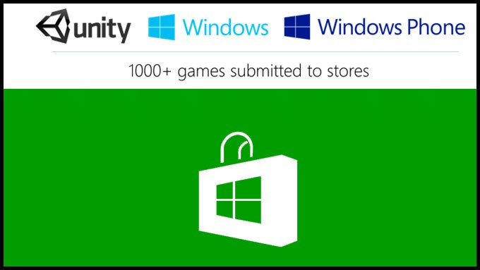 Unity Windows Store