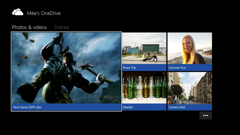 Xbox OneDrive