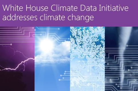 Microsoft White House Climate Data Initiative