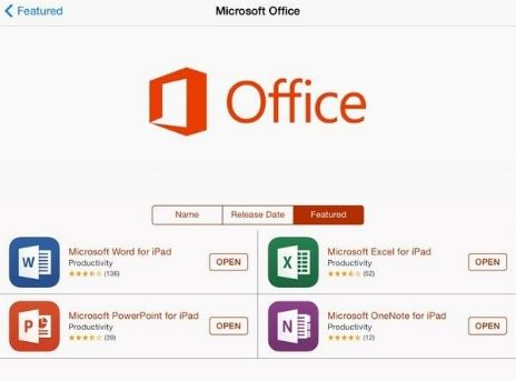 Office for iPad No.1 AppStore