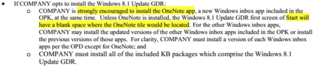 OneNote OEM agreement