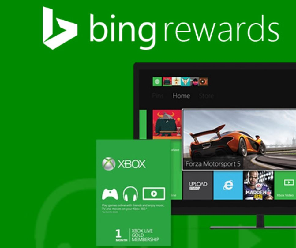 Bing Rewards Xbox Live