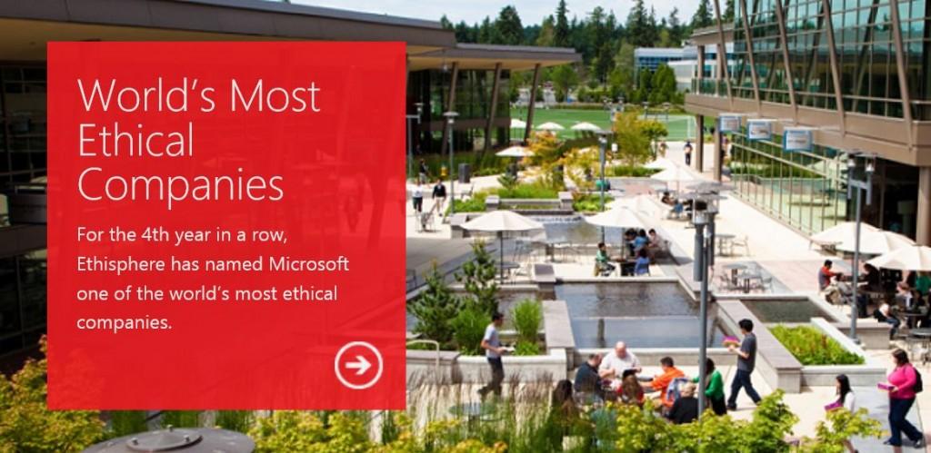 Microsoft Ethics