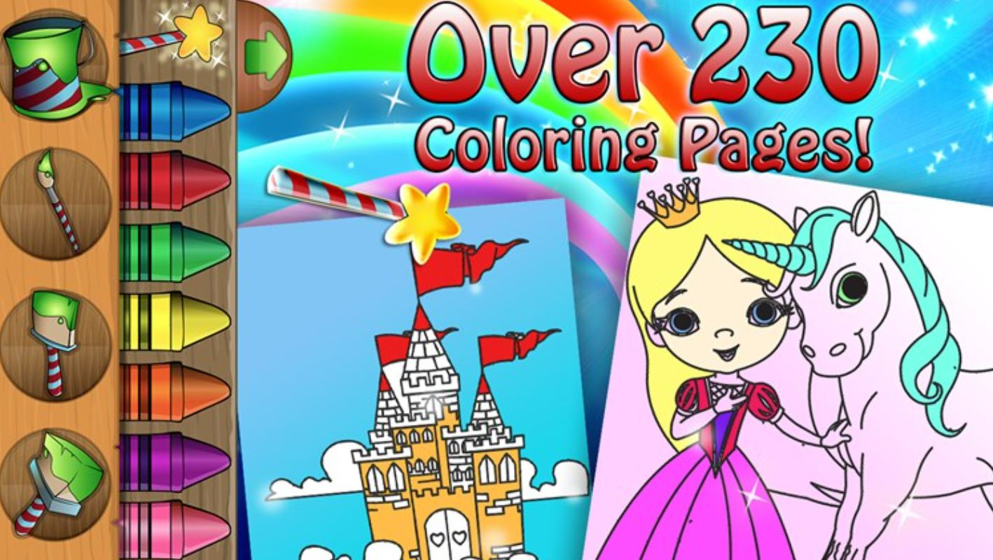 Paint Sparkle Draw Kids App Now Available For Download From Windows