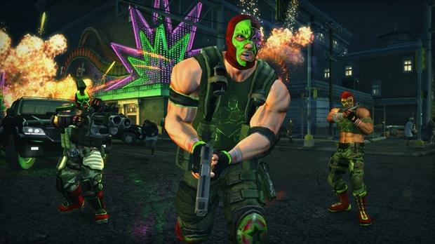 SaintsRow Xbox 360