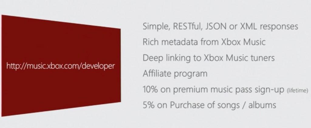 Xbox Music Developer