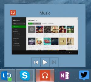 xbox music windows 8.1 update