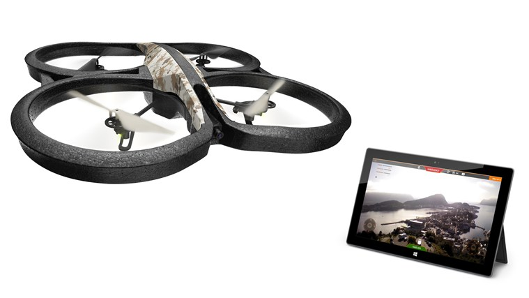 AR Drone Windows Store app