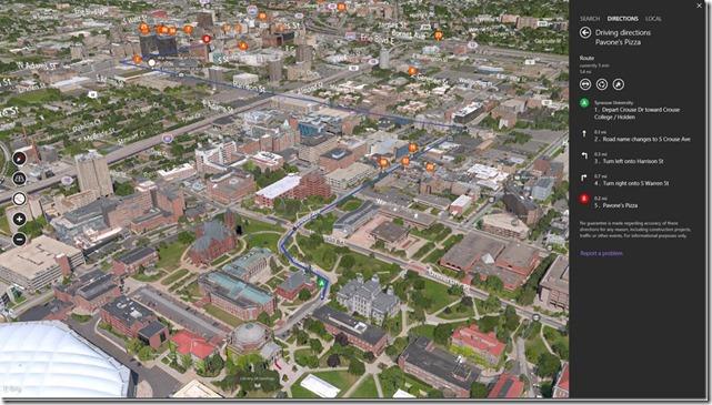 Bing Maps 3D 1