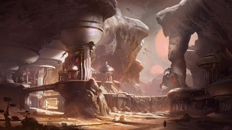 Halo 5 Guardian Concept Art