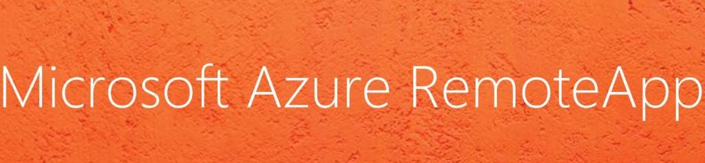 Microsoft Azure RemoteApp