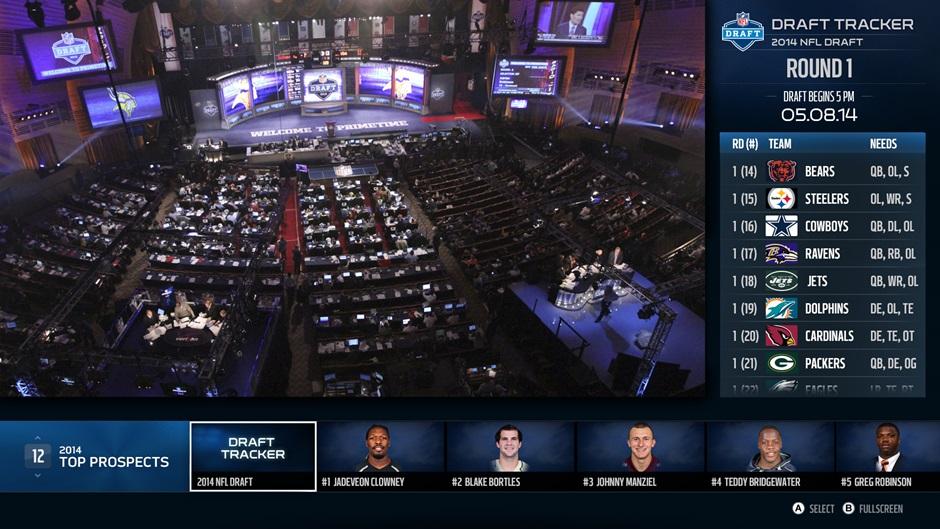 NFL Draft Xbox One