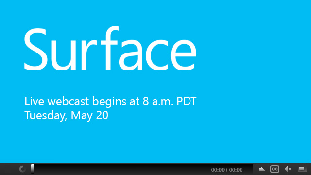 Surface Event Page