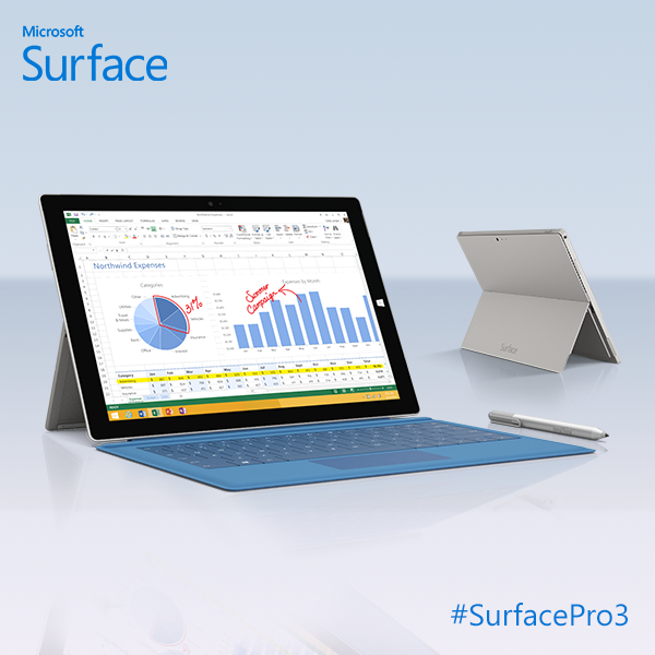 Surface Pro 3 1