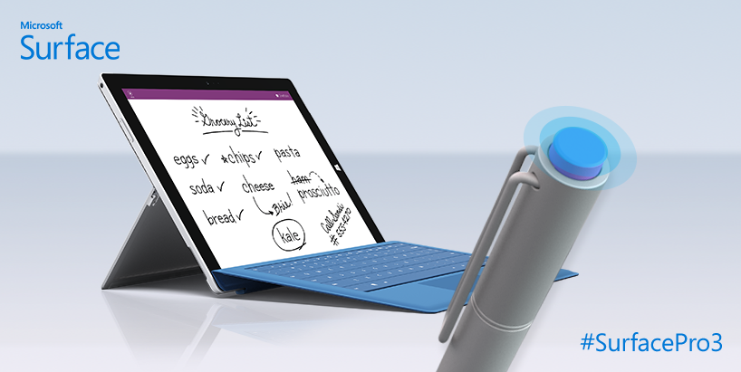 Surface Pro 3 8
