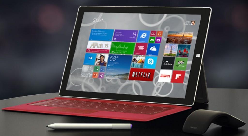 Surface Pro 3 Microsoft store