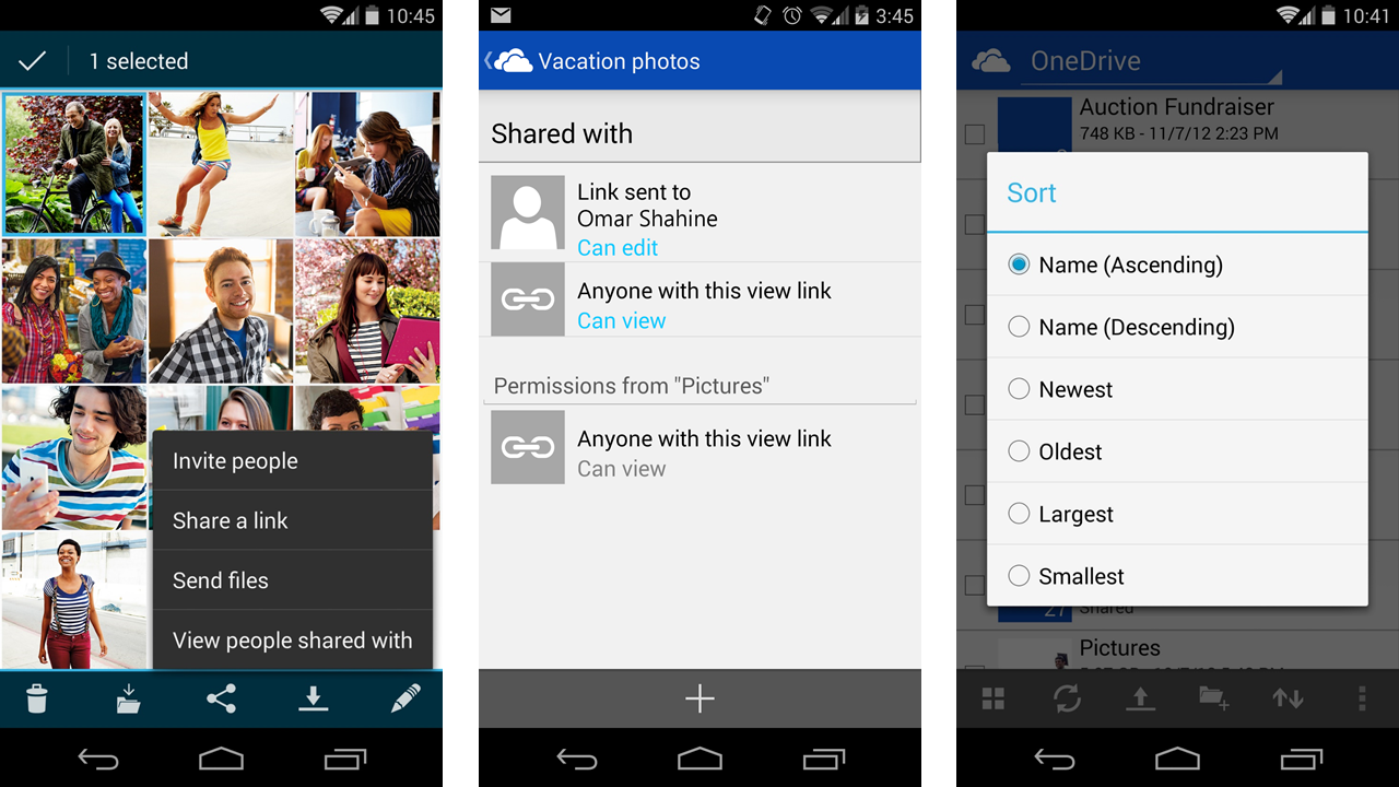 Phone Refresh Android Phone microsoft updates onedrive for android with pull to refresh android