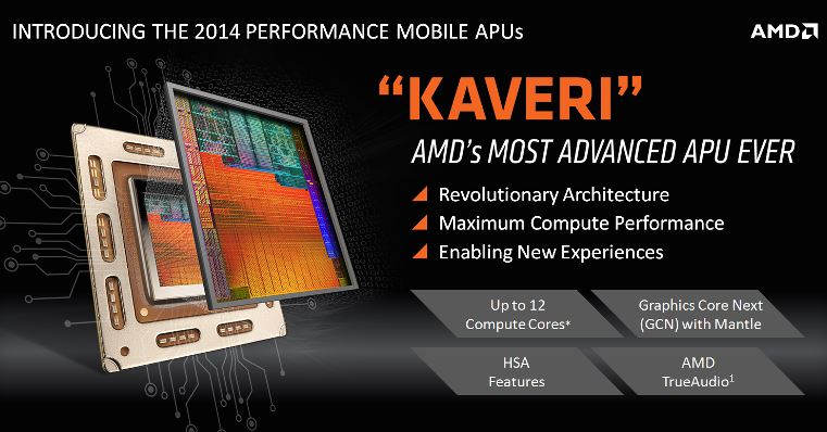 AMD Announces 2014 Performance Mobile APU Family With HSA