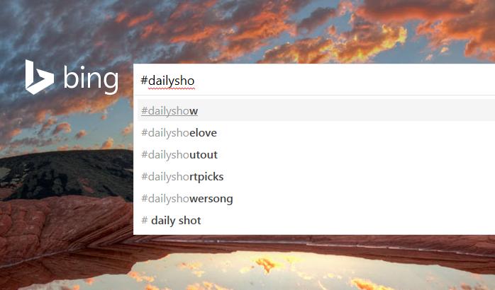 Bing Twitter 1