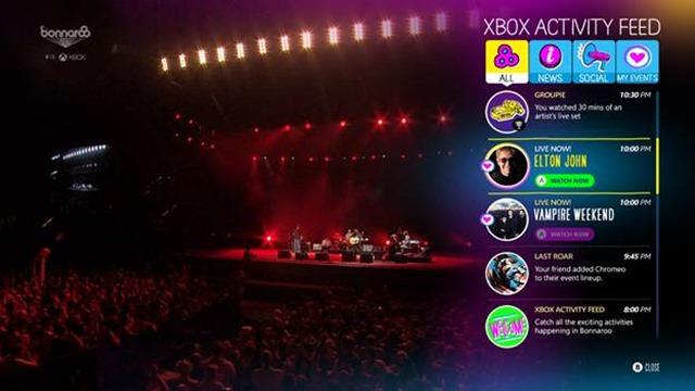 Bonnaroo Music Festival Xbox