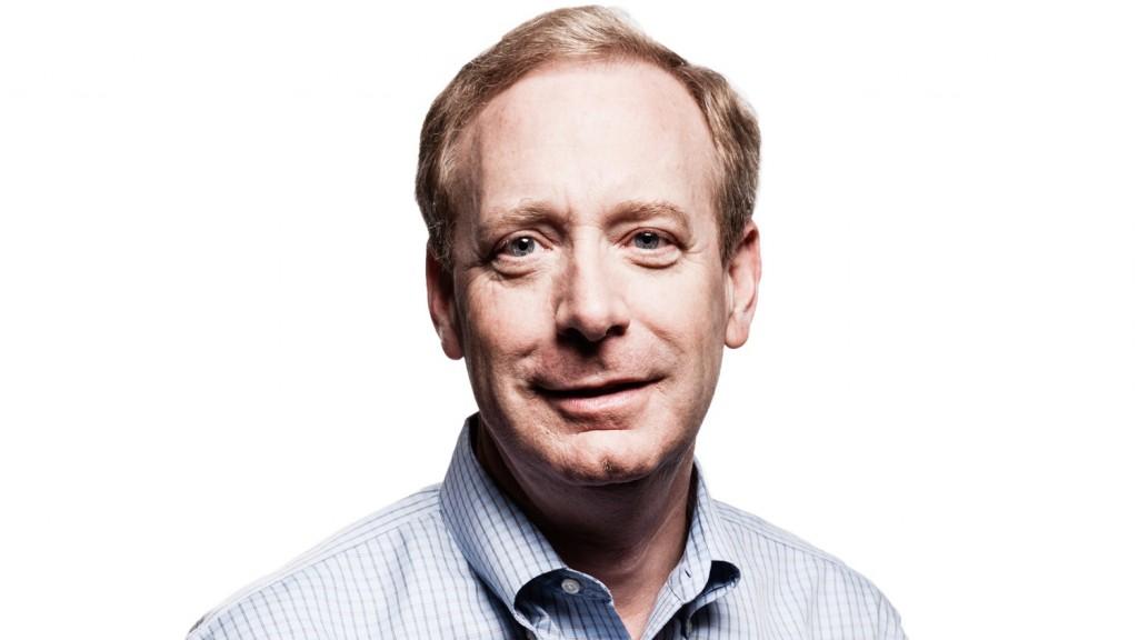 Brad Smith Microsoft Chefjustiziar Headshot