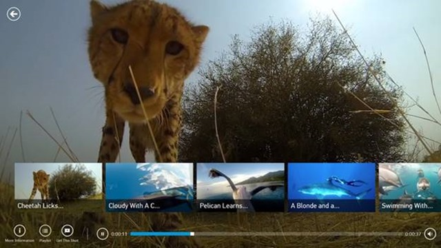 GoPro Channel Windows Store app