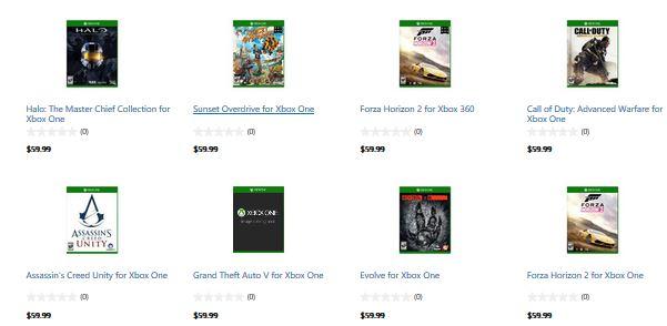 Microsoft Store E3 Games