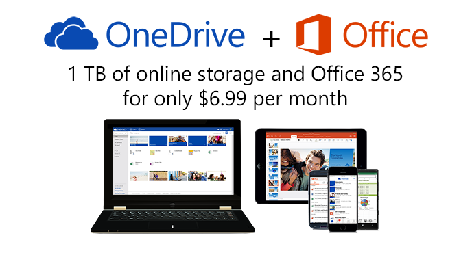 OneDrive 1TB Offie 365