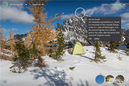 Photosynth Tech Preview