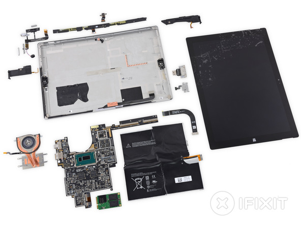 Surface Pro 3 repairability