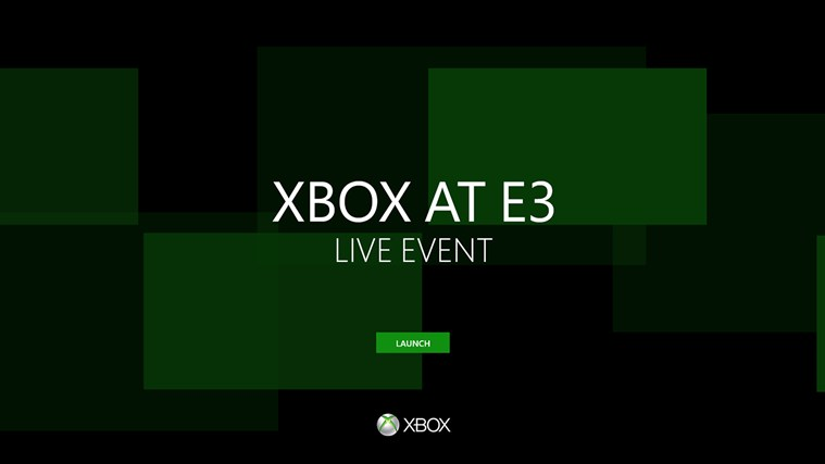 Xbox E3 Live Event Windows Store