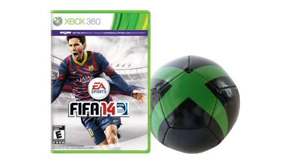 Xbox Fifa free soccer ball