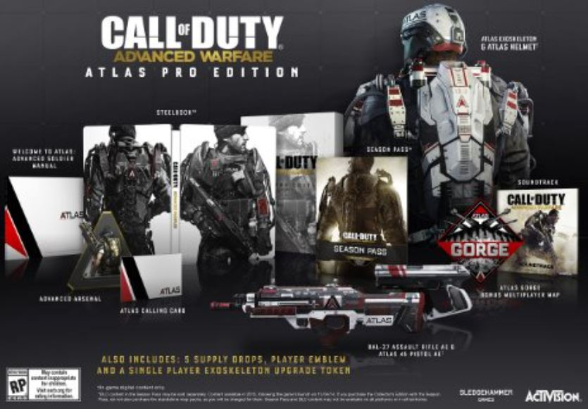 Call of Duty Advanced Warfare Special Edition
