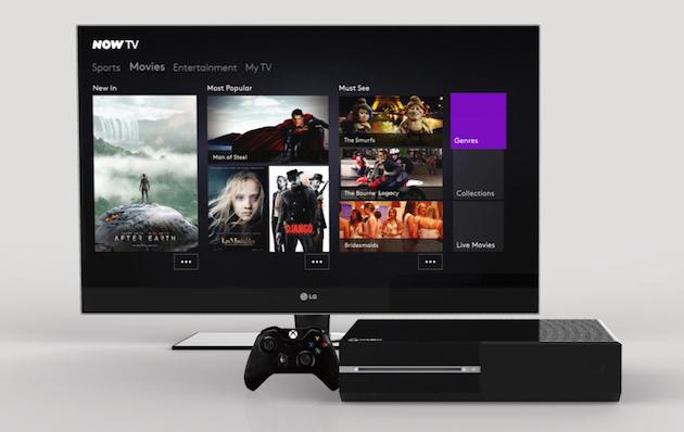 Sky Now Xbox One
