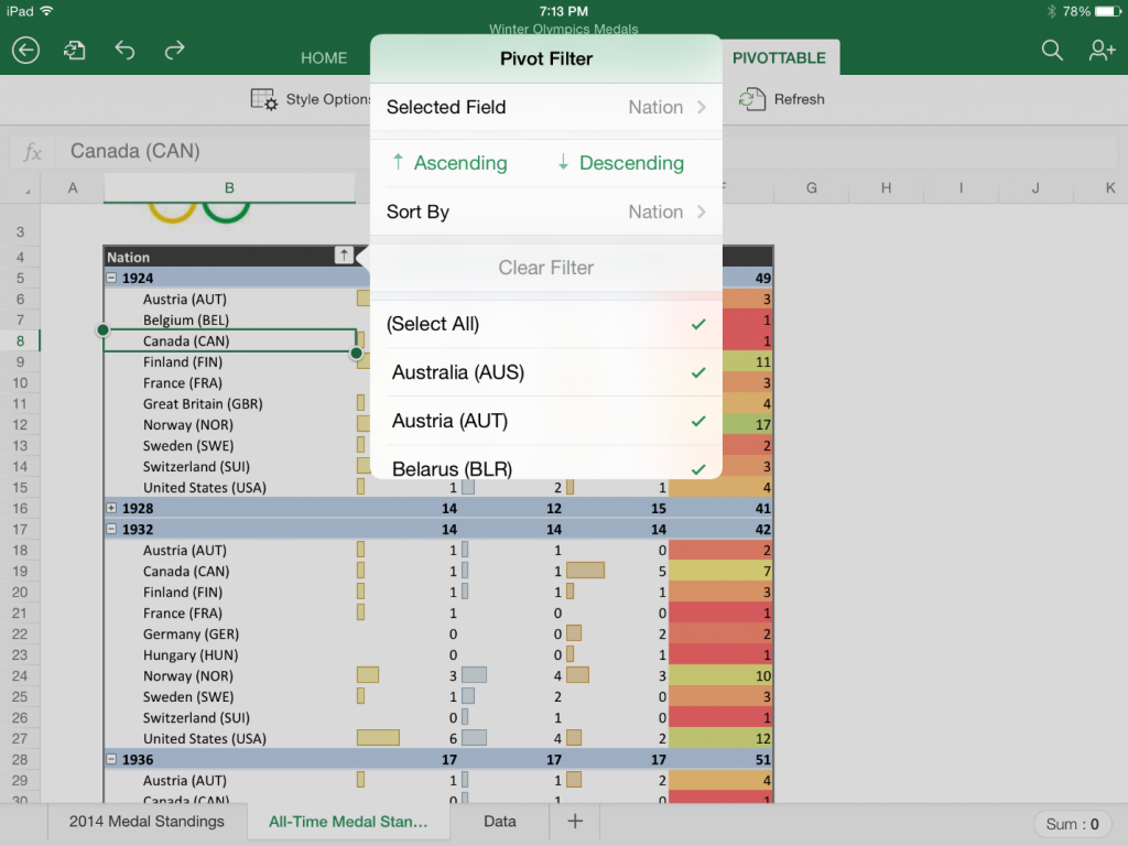 Sorting-a-column-in-a-PivotTable-in-Excel-for-iPad-1024x768