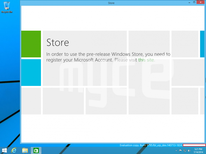 Windows Threshold Build Screenshots 1