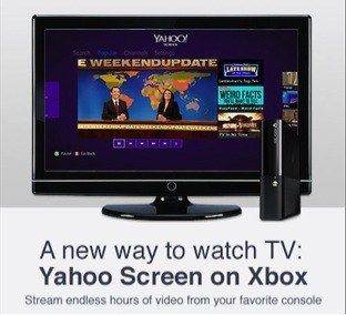 Yahoo Screen Xbox 360