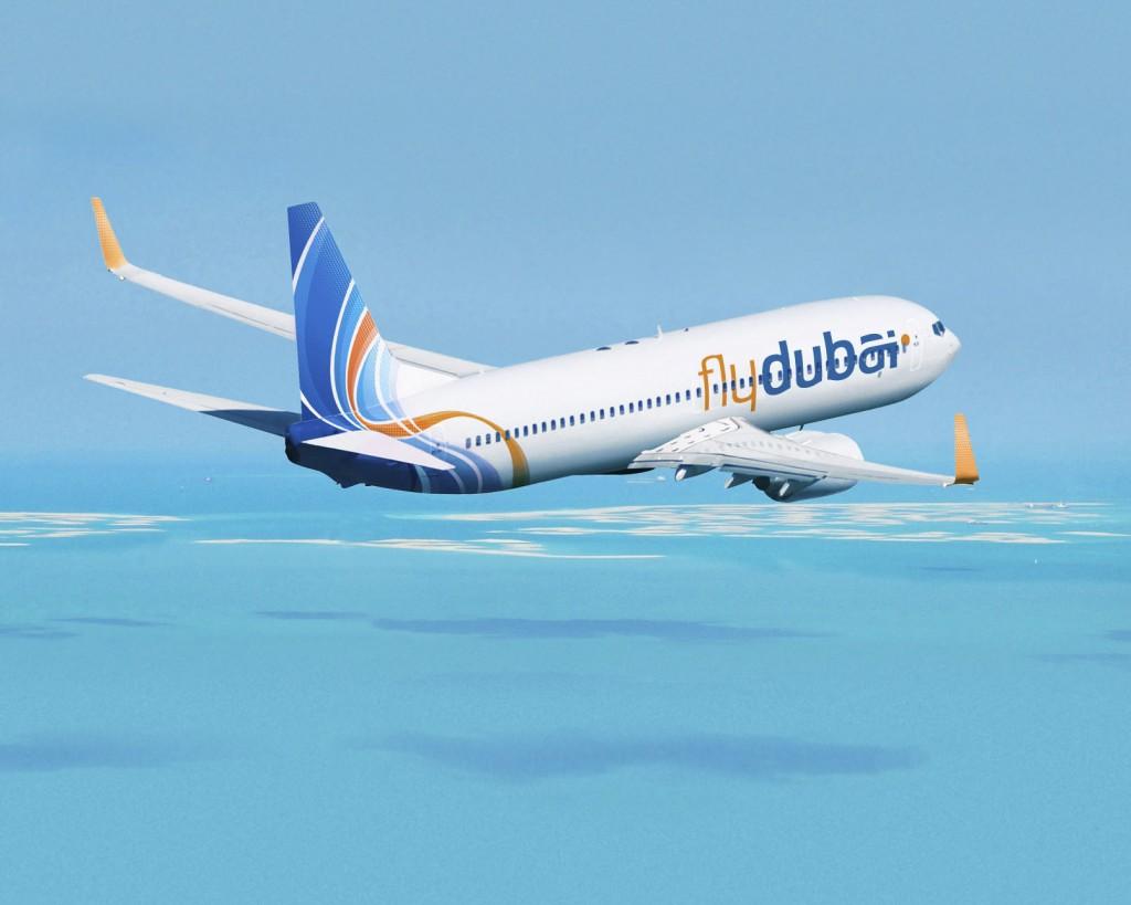 Flydubai JXB 737-800 Artwork K64500