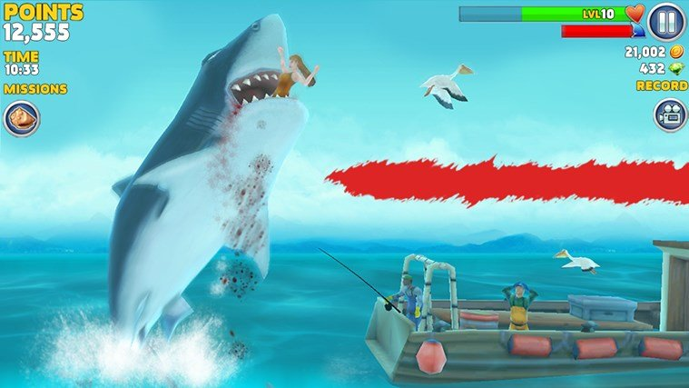 Hungry Shark Evolution Windows Store
