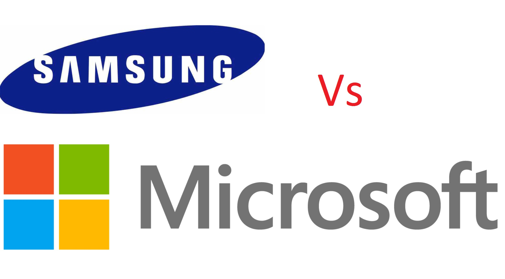 MS vs Samsung