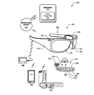 Microsoft AR Glass Patent 1