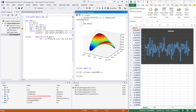 Python Tools for Visual Studio 2.1 RC