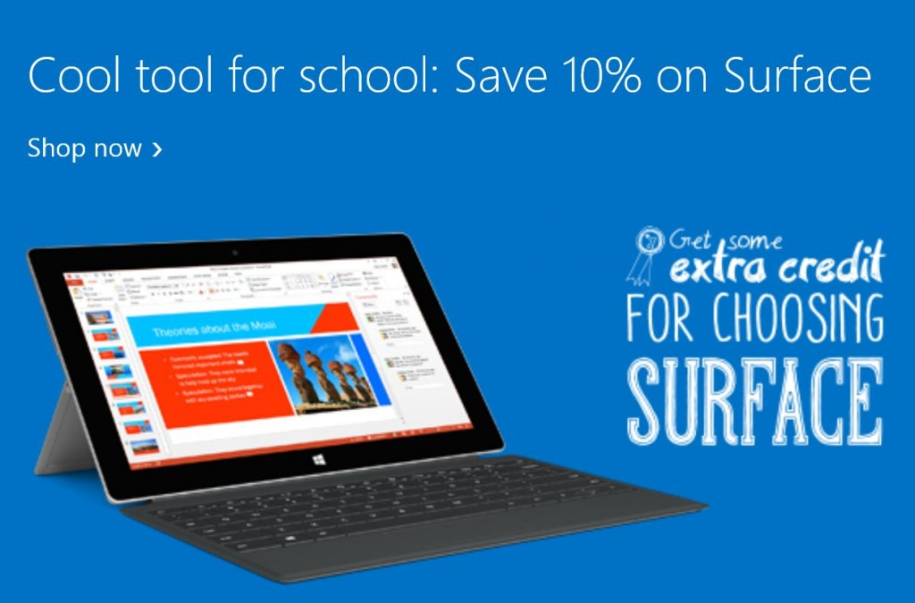 Surface Pro 3 Students Offer