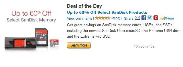 Amazon SanDisk Deals