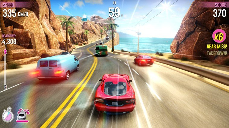 Asphalt OverDrive Windows Store